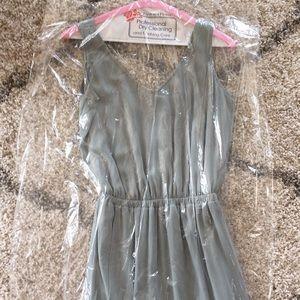 Kendall Dress Show Me Your Mumu Crisp Silver Sage